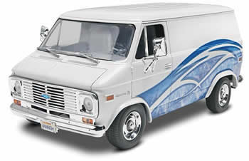 Revell-Monogram REV7221 77 Chevrolet 1/24 Van Plastic Model Kit by Revell at Sears.com
