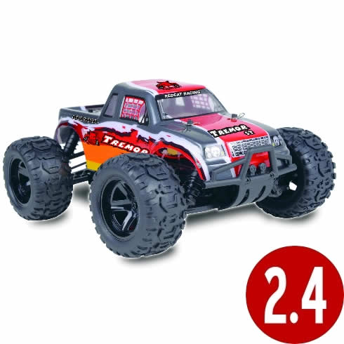 Redcat Racing RED073 Tremor 1/16 RTR Electric Truck Red
