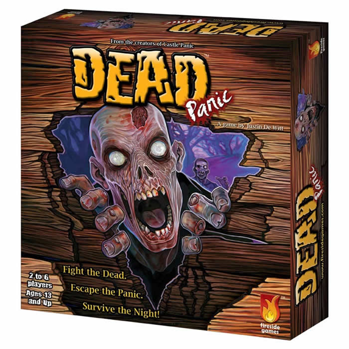 Fireside Games FSD1003 Dead Panic Expansion Castle Panic Game at Sears.com