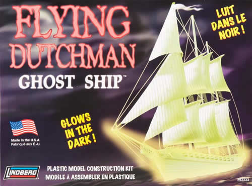 Lindberg Models LIN83333 Flying Dutchman Ghost Ship 1/130 Scale Lindberg Models at Sears.com