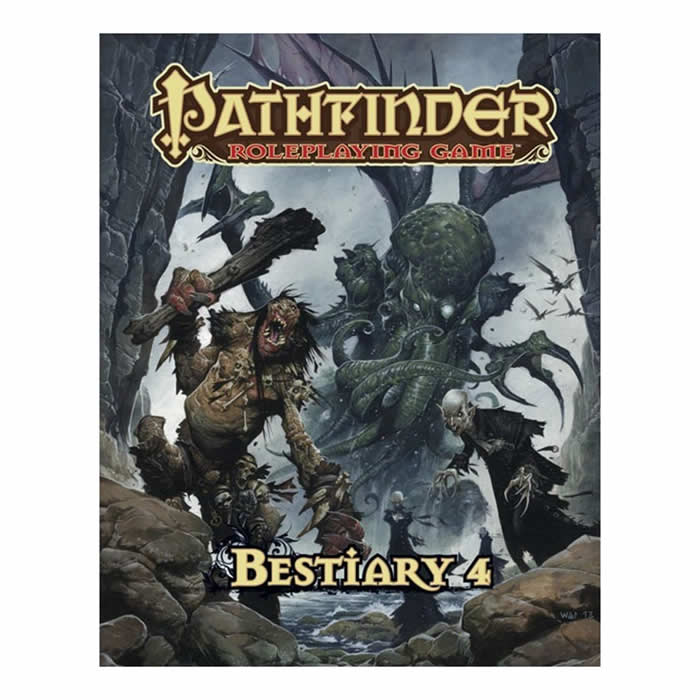Paizo Publishing PZO1127 Bestiary 4 Hardcover Pathfinder Roleplaying Game at Sears.com