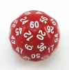 60 Sided Dice Singles