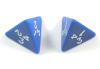 4 Sided Dice Singles