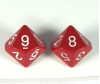 10 Sided Dice Singles