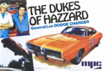 AMT706 General Lee 1969 Dodge Charger 1/25 Scale AMT Models