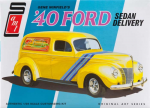 AMT769 Gene Winfield 1940 Ford Delivery Sedan 1/25 Scale Plastic Model Kit AMT