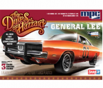 MPC81712 1969 Dodge Charger Dukes Of Hazzard General Lee Snap Kit 25th Scale MPC