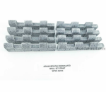 WTW05102  Armageddon Crenelated Wall Set - Straits