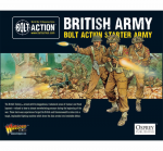 WLGWGBSTART04 British Army 1000pts Starter Army Bolt Action Miniatures Warlord