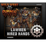 OLM080004 Lawmen Ranger Box Set Hired Hands Outlaw Miniatures