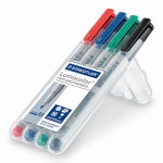 CHX03154 Water Soluble Mat Markers 4-Pack Chessex