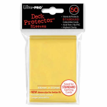 UPR82675 Yellow Standard Card Sleeves 50 Count Ultra Pro