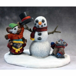 RPR01436 Christmas Mouslings Miniature 25mm Heroic Scale
