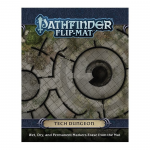 PZO30061 Pathfinder Flip-Mat: Tech Dungeon Paizo