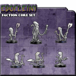BOM31000 Counterblast Edo Core Set Miniatures Bombshell