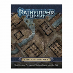 PZO30062 Pathfinder Flip Mat Red Light District Paizo