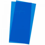 EVG9902 Blue Transparent Styrene Sheets 2 Pk .010x6x12 Inches Evergreen