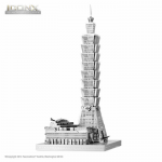 FASICX007 Taipei 101 3D Metal Model Kit Iconic Series Fascinations