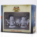 CMNAQ014 Haldor And Brenna Arcadia Quest Miniatures CMoN