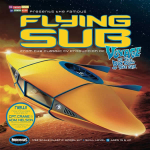 MOE817 Flying Sub Voyage To The Bottom Of The Sea Plastic Model Kit 32th Scale Moebius Models