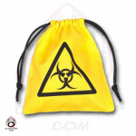 QWSBBIO103 Biohazard Yellow Dice Bag Q-Workshop
