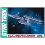 AMT89106 Star Trek Enterprise Cutaway 1/537 Scale Plastic Model Kit