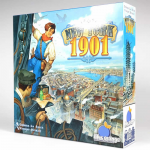 BOG02300 New York 1901 Board Game Orange Blue