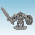 NJD210030 Iron Golem Super Dungeon Explorer Soda Pop Miniatures