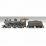 BAC83409 American Richmond 4-4-0 HO Scale Locomotive with Tender Bachmann