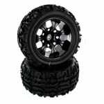 RED20126PA Wheel Complete Set Of 2 For Sandstorm TK