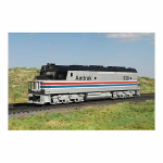 BAC22405S Amtrak O Scale Model Train Set With Engine With Three 60ft Coaches Williams