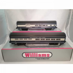 Bac43030 Baltimore Ohio 60 Ft Aluminum Streamliners O Scale Combine And Diner Set