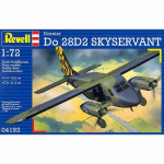 REG04193 Dornier Do-28D2 Skyservant 1/72 Scale Plastic Model Kit