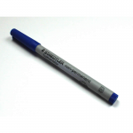 Chx03123 Blue Marker Broad Tip Washable