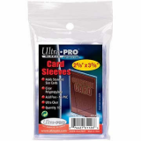 UPR81126 Clear Trading Card Soft Sleeves, Penny Sleeves by Ultra Pro