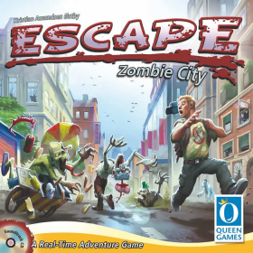 ASMQ010031 Escape Zombie City Board Game Asmodee