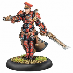 PIP33119 Kommander Andrei Malakov Warcaster Privateer Press