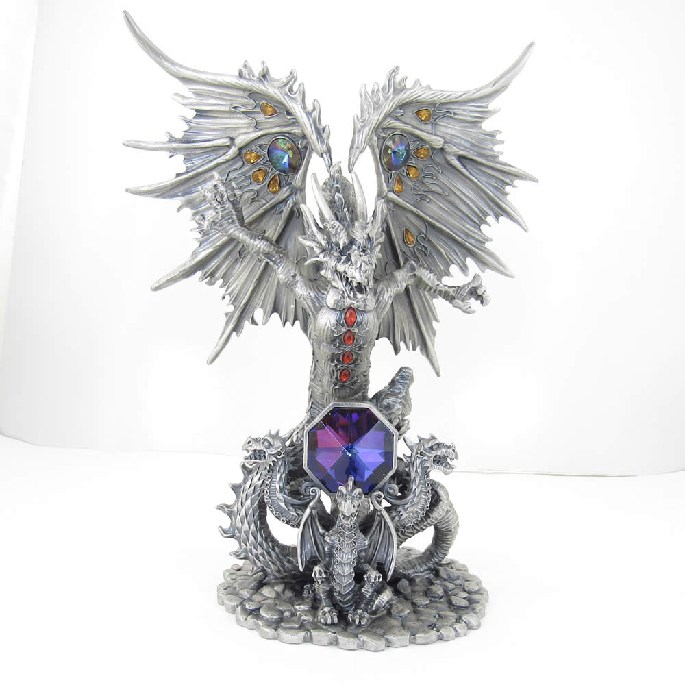 TUIND10 Titananos Pewter Dragon Myth and Magic Collectible Figurine