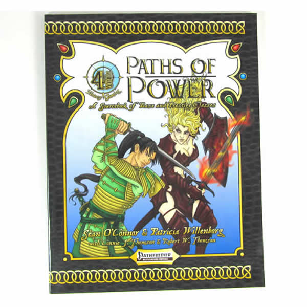 4WF004 Paths of Power Pathfinder Supplement 4 Winds Fantasy Gaming