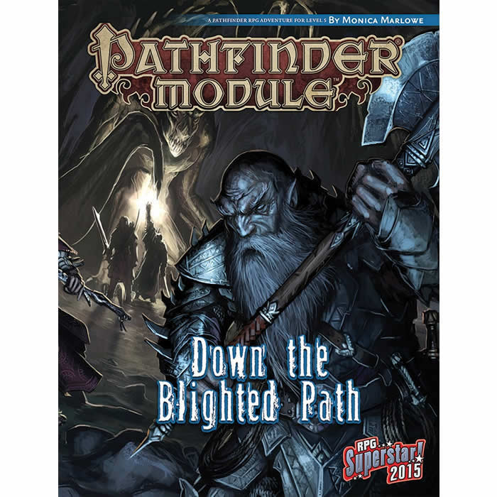 PZO9550 Down The Blighted Path Pathfinder Module RPG Paizo