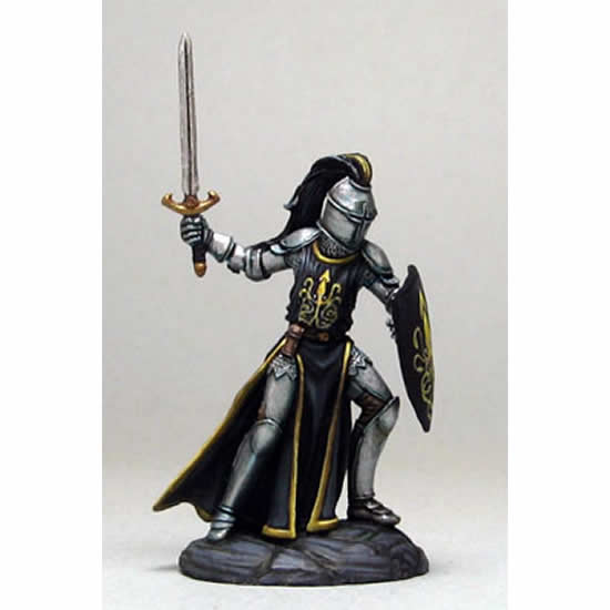 DSM1156 Male Knight with Sword and Shield Miniature Elmore Masterwork