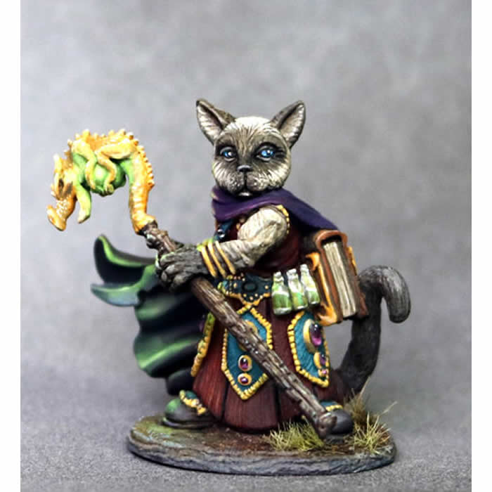 Catfolk Monk Miniature At 18th level your base speed would be 60. catfolk monk miniature
