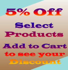 5 Percent off Sale Select Products