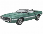 REV4025 1969 Shelby GT500 Convertible 1/25 Scale Kit Revell