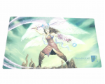 WONPM03 Earthy Angel With Sword Playmat With Wondertrail Logo