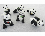 PTG5383 Panda Set Of 6 Pacific Trading