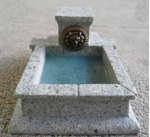 Nds1118 Marble Lion Fountain 28mm Scale