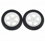 DUB186MS Micro Sports Wheels 1.86in Set Of Two Dubro