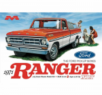 MOE1208 1971 Ford Pick Up Ranger Plastic Model Kit 25th Scale Moebius Models