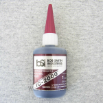 BSI118 IC-2000 Rubber-Toughened 1oz CA Adhesive Glue Bob Smith Ind